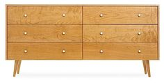 mid century modern furniture legs. I love the tapering. I am considering an IKEA TARVA hack and these seem perfect.