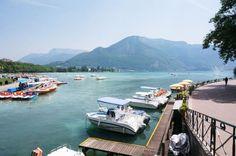 Promenade au lac d'Annecy