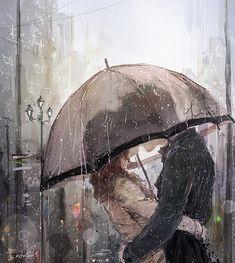 시간은 늘 조금은 빠른듯하다. 하지만 가끔 그녀와 함께 한 무언가를 떠올릴 때면 천천히 흐르다 이내 멈추어 버리기도 한다.  변덕쟁이.   시간이 멈추려 하면 빗방울 하나하나에 이름을 붙이기도 하고  떨어지고 있는 한명한명의 이야기에 귀를 기울이며 그 순간에 머무르곤 한다.   적당한 비가 내 어깨를 적셔올 즈음 그는 허락 없이도 날 번쩍 들어 지금에 내려놓지만   돌아와 눈감으면 아직도 난 그날의 그녀를 의식하고 있는 듯한 호흡을 하게 된다 나의 일부가 아직 그곳에 살고 있는 것처럼  By 현현(endmion1)