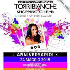 #JulianaMoreira Juliana Moreira: Che dite di fare shopping assieme domani??? Vi aspetto #torrebianche #shopping #cinema #sfilata #moda #juli  Vimercate (MB)