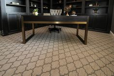 Tan Patterned Office Carpet Office Carpet, Patterned Carpet, Entryway Tables, Furniture, Home Decor, Office Rug, Interior Design, Home Interior Design, Arredamento