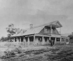 Maxwell house and Officers Quarters, Fort Sumner, New Mexico where Billy the Kid was shot by Pat Garrett