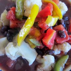 Black Bean Dump Soup (E)
