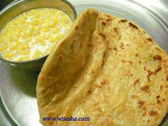Left over rice recipes – Left over rice paratha/Chawal ka paratha with pictures