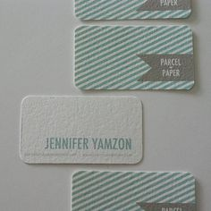 Love the stripes-business card ideas Stationery Design, Branding Design, Packaging Design, Cool Business Cards, Business Card Design, Name Card Design, Calling Cards, Name Cards, Corporate Design