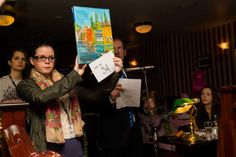 """The Five Lamps Arts Festival and """"The Occasionists"""" Auction on 4th December 2013 in Cleary's pub on Amiens Street"""