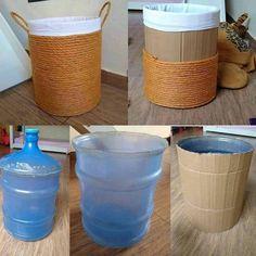 Diy Crafts Hacks, Diy Home Crafts, Diy Home Decor, Diy Furniture Easy, Diy Furniture Projects, Diy Projects, Home Design Diy, Diy Plastic Bottle, Diy Bottle