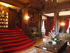 The Central Hall - Polesden Lacey - Great Bookham -  Surrey -  England