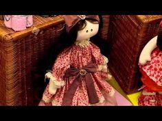 Boneca Claudia - Coleção Primavera - Silvia Torres - YouTube