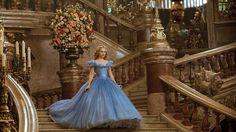 Lily James in Disney's 2015 adaptation of 'Cinderella'