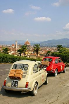 Florence, Fiat 500, wine and food. What else?