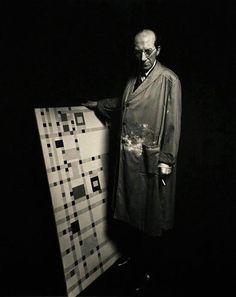 Piet Mondrian, Dutch painter, (b. 1872)