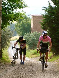 Cycling Tuscany / Andy Hampsten by Arnaud Bachelard, via Flickr