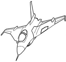 fighter jet coloring page printables for free