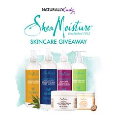 Enter to win Curly Hair prizes: SheaMoisture Skincare Giveaway http://www.naturallycurly.com/giveaways/SheaMoisture-Skincare-Giveaway