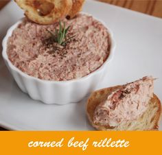 コンビーフでつくる簡単リエット(パテ) by アツカ [クックパッド] 簡単おいしいみんなのレシピが211万品