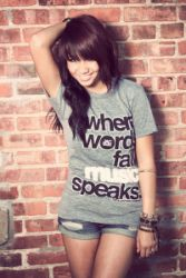 'Where Words Fail, Music Speaks' T-Shirt by Jac Vanek i want this shirt