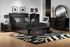Bedroom Furniture-The Cinema Collection-Cinema Queen Bed