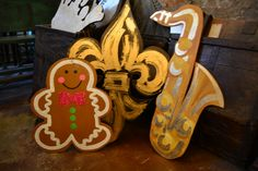 Infuse your home with New Orleans charm with a hand-made piece from local artist Cynthia C. Kolls | $75-$125 | 504-522-9495 | #gifts #decor #nola |