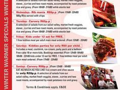 Mike's Kitchen N1 City - Winter Warmer Specials Winter Warmers, Gravy, Stew, The Selection, Salads, Roast, Chips, Potatoes, Kitchen
