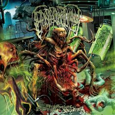 Epicardiectomy - Putreseminal Morphodysplastic Virulency (2014) - Brutal Death Metal - Prague, Czech Republic