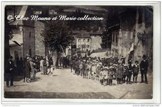 #ALLIERES SUR AZERGUES #CHAMBOST - DEFILE - RHONE - CARTE PHOTO