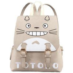 YOYOSHome Anime My Neighbor Totoro Cosplay PU Crossbody Satchel... ($25) ❤ liked on Polyvore featuring bags, backpacks, pink satchel handbags, backpack crossbody, satchel handbags, satchel backpacks and pink satchel