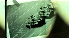 une 5, 1989 - Photographer Stuart Franklin pointed his camera at a man standing defiant in front of Chinese tanks in Tiananmen Square, Beijing. The images have since become the ultimate symbol of individual power against the mighty state.