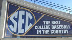 SEC: The Best College Baseball In The Country