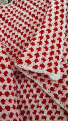 Baby girl #nobrand #crotcheted #blanket... 3 colours#madebyme
