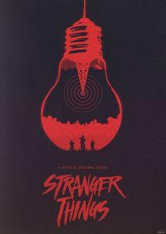 The Upside Down - Stranger Things Poster by edwardjmoran