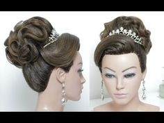 Beautiful Hairstyles for Wedding or Function - YouTube