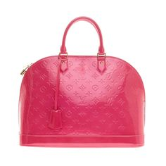 Louis Vuitton Alma Monogram Vernis GM | From a collection of rare vintage top handle bags at https://www.1stdibs.com/fashion/handbags-purses-bags/top-handle-bags/