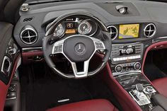 Ok. It's a Mercedes. They are nice cars, they are spendy cars, If I could just find it in my budget I would own this one:  2013 Mercedes Benz SL550  - Beautiful Inside and out  ....
