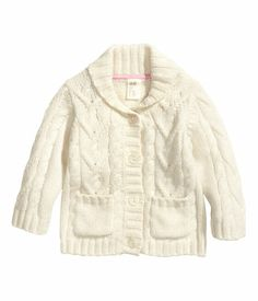 Cable-Knit Cardigan | H&M US $17.95