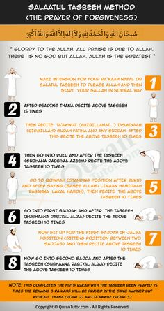 How To Perform Salatul Tasbih (Prayer of Forgiveness) #prayer