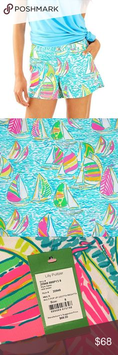 bcc8598e82fe2 Lilly Pulitzer You Gotta Regatta Adie Shorts These shorts were part of the  Lilly Pulitzer