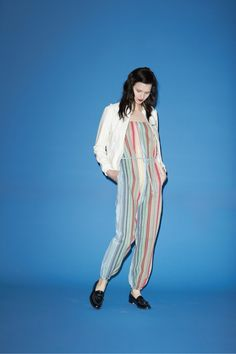 Band of Outsiders-:Love this stripe onesie set for beach/night