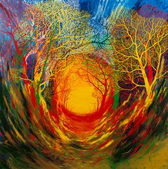 Far Away is Close at Hand by Stanley Donwood at the Outsiders Gallery