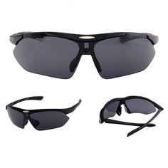 d934208f4e9 Cycling Sport Sunglasses Half-Rim Wrap Around Vented Frame Matte Black Gray  Women s Sunglasses