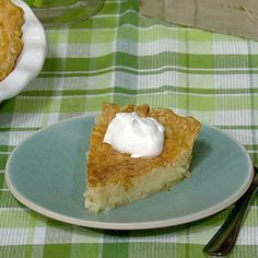 Carla's Buttermilk Pie.