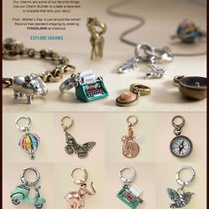 Can't wait to get mine started :) Fossil charm bracelet!!!