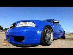"The second video in our new ""Audi Love"" series features Ken Stevens' Nogaro Blue The video was shot at Alameda Point in Alameda, California, highlight. Audi S4, Automobile, Cars, Vehicles, Youtube, Blog, Collection, Motor Car, Autos"