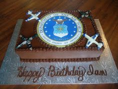 Charity's Sunshine Sweets: Air Force Cake