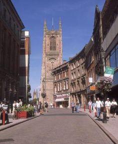 Derby, Derbyshire UK - my home town !