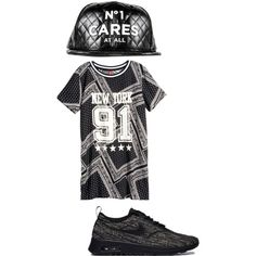 A fashion look from January 2015 featuring H&M dresses and NIKE sneakers. Browse and shop related looks.
