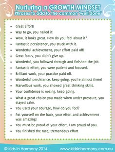 Raising the bar on the common ''well done'' Do You Feel, Don't Give Up, Growth Mindset, You Nailed It, Raising, Effort, Appreciation, Wellness, Bar