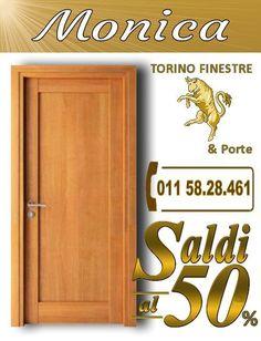 porte interne Monica torino Turin, Stores, Hand Lettering, Tall Cabinet Storage, Neon Signs, Home Decor, Melamine, Aurora, Solid Wood