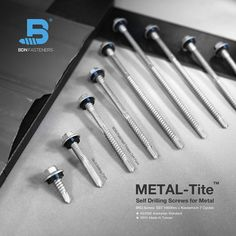 BDN Fasteners manufactures self-drilling metal screws in different drive styles, lengths and sizes. Steel Trusses, Roof Trusses, Roofing Screws, Roof Cladding, Thermal Expansion, Steel Sheet, Fasteners, Drill
