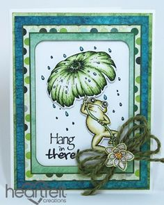 Heartfelt Creations | Leaping Frog Hanging